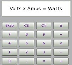 Convert Volt Amp Watts